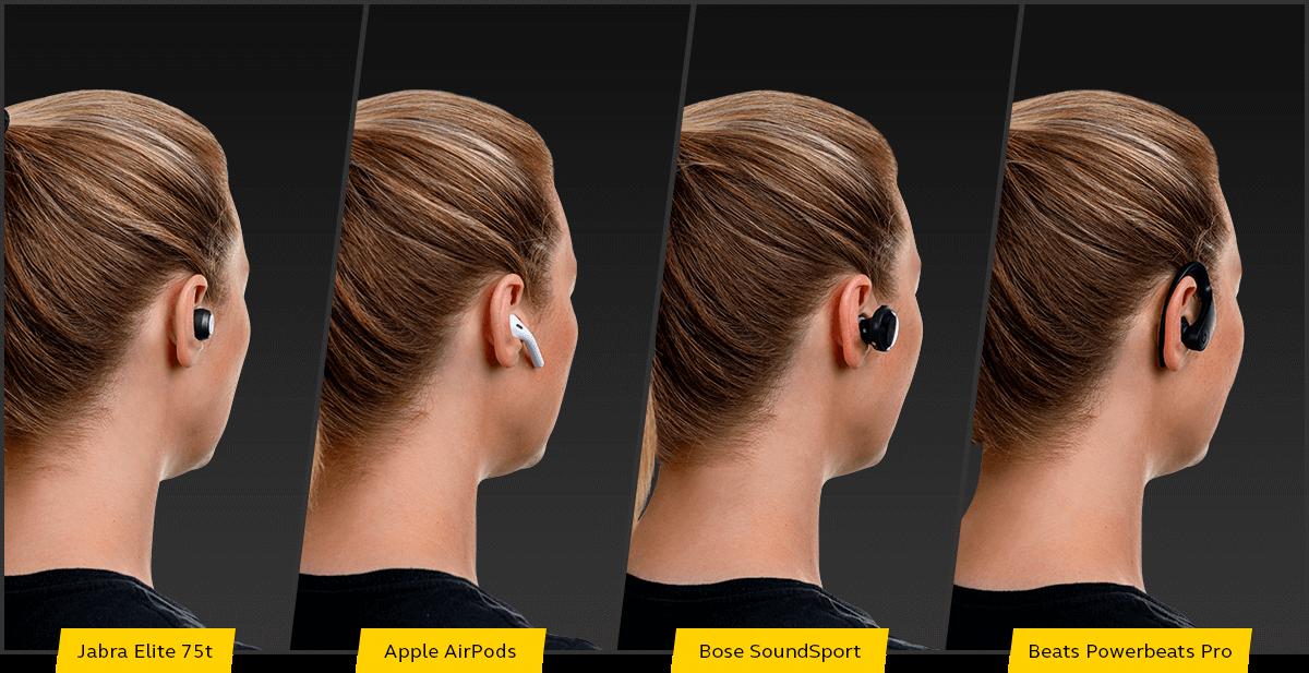 Perfekte Passform, wie kein anderer Kopfhörer - Jabra Elite 75t im Vergleich