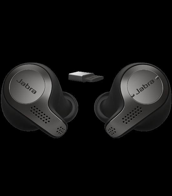 Replacement Ear buds Eargel for Jabra Evolve 75e MS Bluetooth Wireless In-Ear